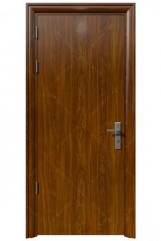 Cửa thép vân gỗ KG-1.08 (2)