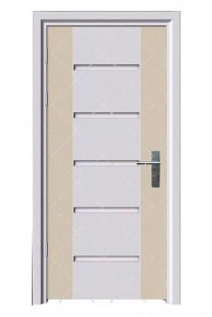 Cửa thép vân gỗ KG-1.11