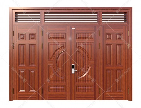 Cửa thép vân gỗ KG-42.01.04-3NC